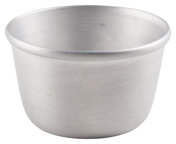 Aluminium Pudding Basin 105ml (Each) Aluminium, Pudding, Basin, 105ml, Nevilles