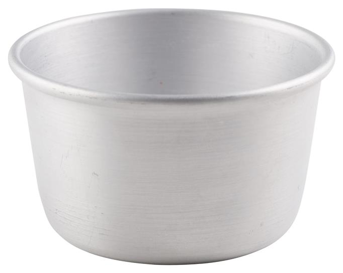 Aluminium Pudding Basin 180ml (Each) Aluminium, Pudding, Basin, 180ml, Nevilles