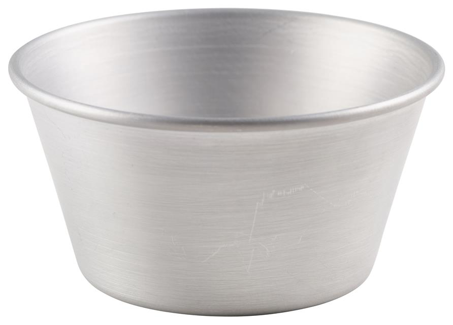 Aluminium Pudding Basin 335ml (Each) Aluminium, Pudding, Basin, 335ml, Nevilles