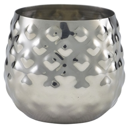 Stainless Steel Pineapple Cup 8cl/2.8oz (Each) Stainless, Steel, Pineapple, Cup, 8cl/2.8oz, Nevilles