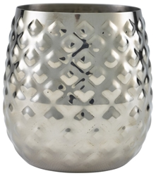Stainless Steel Pineapple Cup 44cl/15.5oz (Each) Stainless, Steel, Pineapple, Cup, 44cl/15.5oz, Nevilles