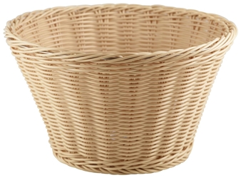 Polywicker Display Basket 26cm (Each) Polywicker, Display, Basket, 26cm, Nevilles