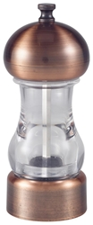 Antique Copper & Acrylic Salt/Pepper Grinder 14cm (Each) Antique, Copper, &, Acrylic, Salt/Pepper, Grinder, 14cm, Nevilles