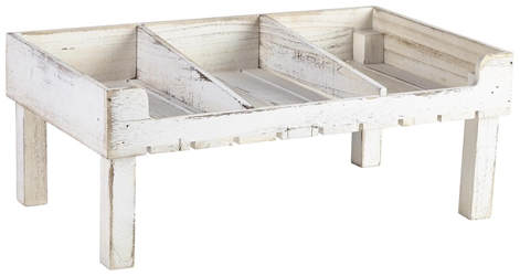 Rustic Wooden Display Crate Stand-White Wash Finish (Each) Rustic, Wooden, Display, Crate, Stand-White, Wash, Finish, Nevilles