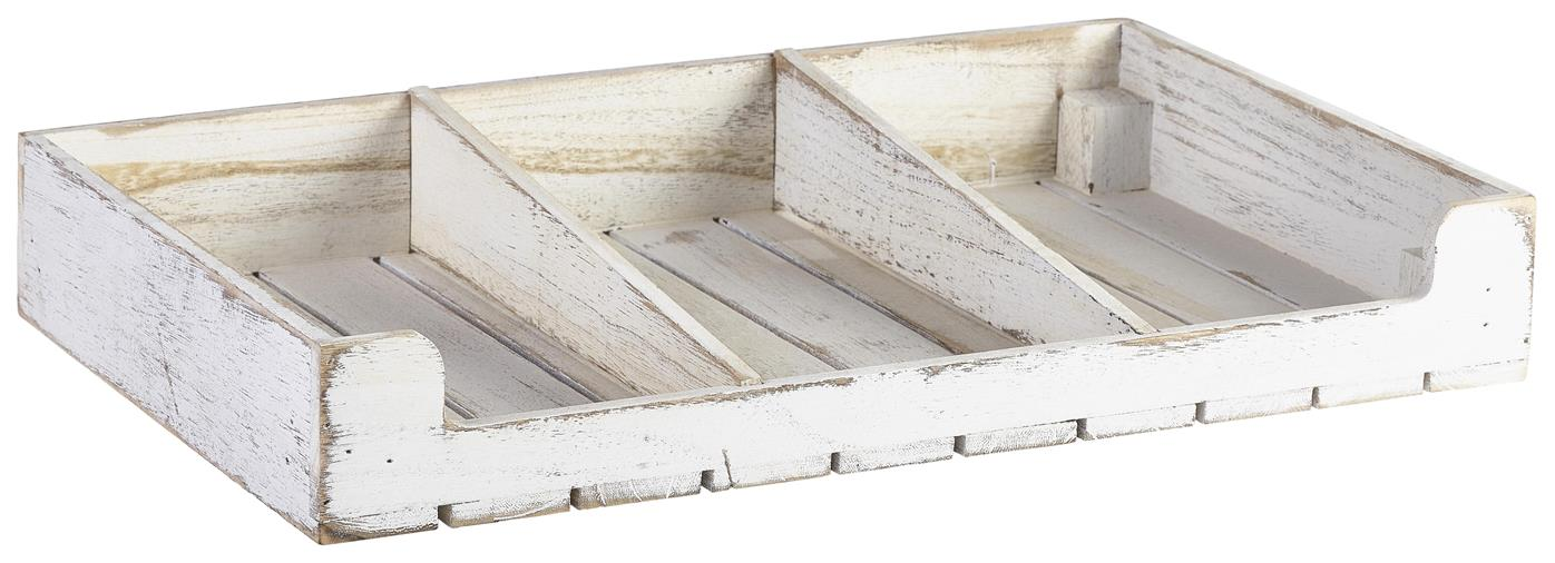 Rustic Wooden Display Crate-White Wash Finish (Each) Rustic, Wooden, Display, Crate-White, Wash, Finish, Nevilles