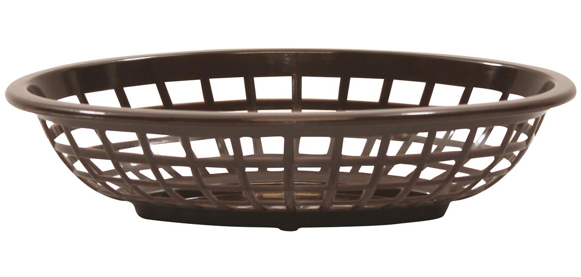 Side Order Baskets Hight Density Polyethylene Brown 20x14x5cm (36 Pack)