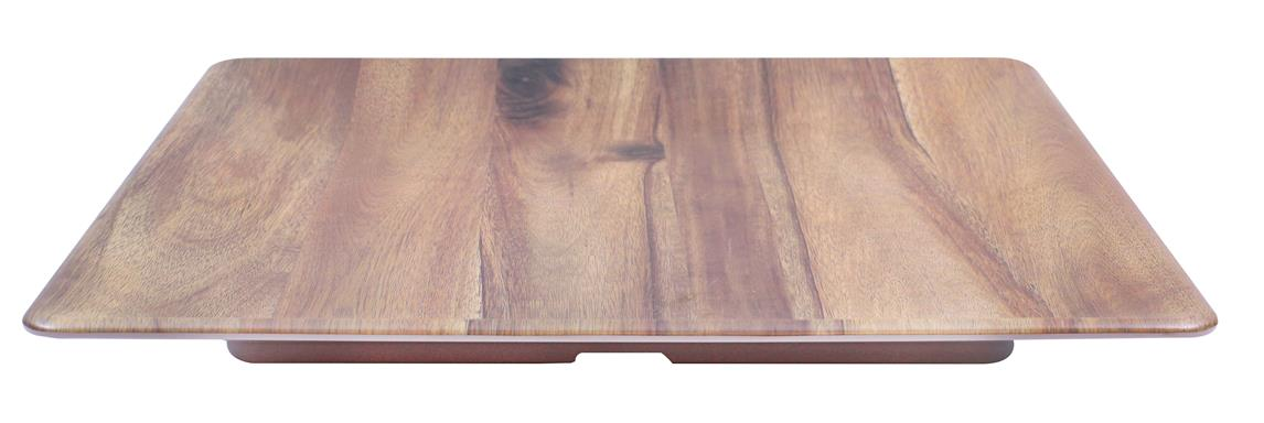 Frostone Acacia Wood Square Tray