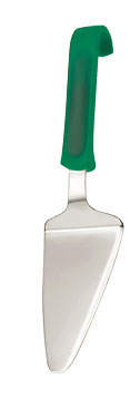 Pizza Server Polypropylene Green Handle
