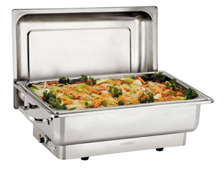 Sunnex Deluxe Electric Chafer 1/1 Pan 100Mm