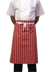Butchers Stripe Waist Red