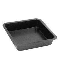 Non Stick Square Bake Tin 26 X 26 X 5Cm