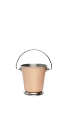 Copper Presentation Bucket 7Cm