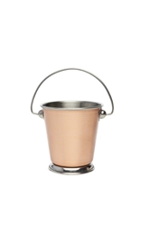 Copper Presentation Bucket 9Cm