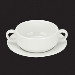 Orion Handled Soup Bowl Saucer 15 Cm / 6Inch (6 Pack)