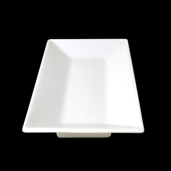 Orion  Rectangular Plate 25X14X3Cm/10Inch X 5Inch (4 Pack)