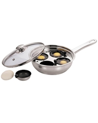 Egg Poacher Stainless Steel 22Cm/ 4 Cups