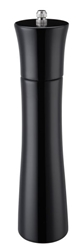 Colours  Wooden Pepper Mill 24Cm/9Inch  Black