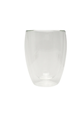 Double Wall Large Coffee Glass 330ml