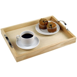 Naturals  Tray With Handles 30X40Cm/12Inchx16Inch