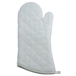 Terry Cloth Oven Mitt 15Inch