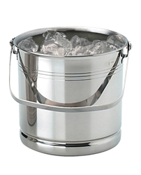 Ice Bucket Stainless Steel H5.25Inchxd5.25Inch