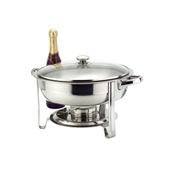 Round Chafer 30 Cm / 12Inch  4 L Food Pan