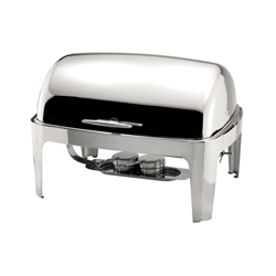 Sunnex Rectangular Roll Top Chafer 1/1 8.5Ltr