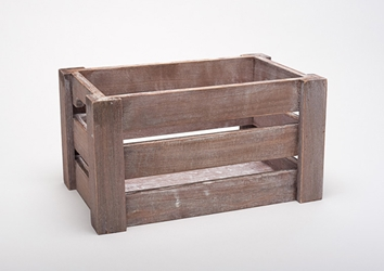 Paulownia Wooden Crate 31 X 21 X 16Cm