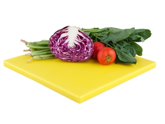 Zanussi Cutting Board 13?Inch X 13?Inch X ?Inch Yellow