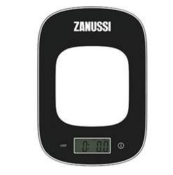 Zanussi Digital Kitchen Scales Black