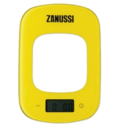 Zanussi Digital Kitchen Scales Yellow