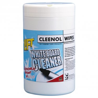 Lift White Board Cleaner Wipes (40 Pack)