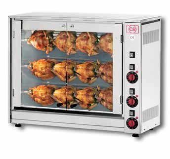 3 Spit 12 Chicken Electric Rotisserie