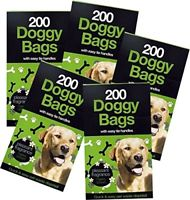 Doggy poo bags case 2000 scented