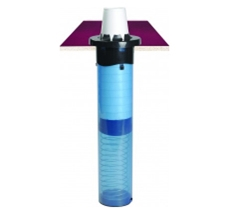 Sentry® In-Counter Adjustable Cup Dispenser (118 mL-710 mL / 457 mm Long)